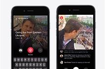 Facebook cho phép phóng viên truyền trực tiếp sự kiện lên News Feed