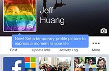 Facebook sắp tung tính năng ảnh đại diện tự hủy