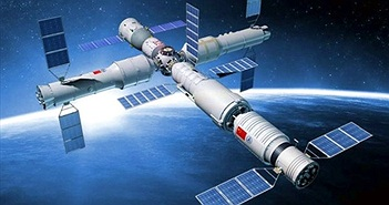Trạm Thiên Cung 2 của Trung Quốc sẵn sàng bay vào vũ trụ