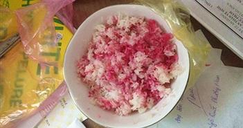 Tìm ra nguyên nhân khiến gạo nấu thành cơm có màu tím sen