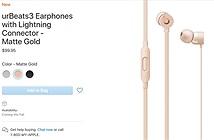 Apple giới thiệu tai nghe urBeats3 và Siri Remote phiên bản mới