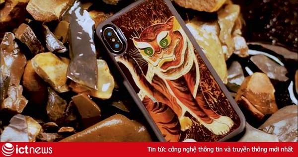 Doanh nghiệp Việt làm ốp lưng sơn mài cho iPhone, giá từ 1,49 triệu đồng