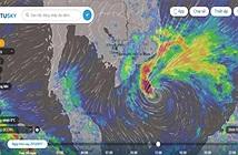 Cập nhật trực tiếp đường đi của bão Mangkhut