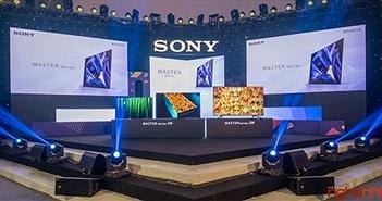 Sony ra mắt bộ đôi TV Master Series A9F và Z9F tại Sony Show 2018