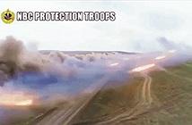 Pháo phản lực Nga có thể diệt gọn cả một tiểu đoàn xe tăng Mỹ