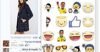Facebook cho phép bình luận bằng sticker