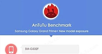 Samsung Galaxy Grand Prime+ lộ cấu hình