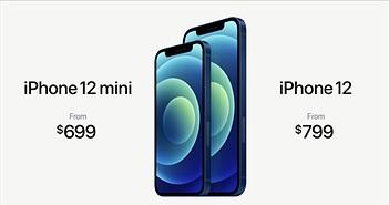 iPhone 12 mini chính hãng dự kiến về Việt Nam 16/10 giá từ  21,5 triệu