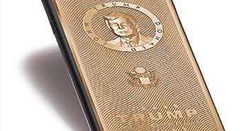 iPhone mạ vàng khắc hình Donald Trump, giá cao
