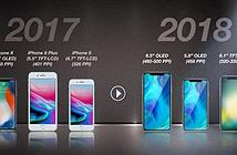 Sẽ có đến 3 chiếc iPhone tai thỏ trong năm 2018, 2 chiếc màn OLED và 1 chiếc màn LCD