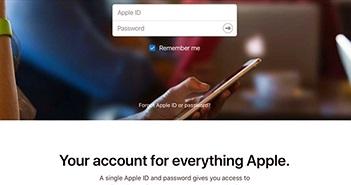 Apple ID bỗng dưng dở chứng, nhiều khách hàng lo ngại bị hack