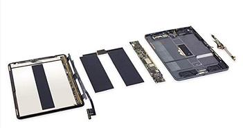 iFixit tiếp tục mở iPad Pro 2018, vẫn khó sửa chữa do nhiều keo