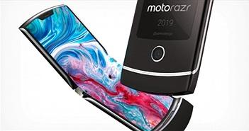 Điện thoại màn hình gập lại Motorola Razr khiến bạn phải ngỡ ngàng