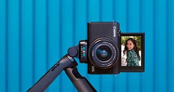 Canon EOS M200 ra mắt người dùng Việt giá từ 15,9 triệu đồng