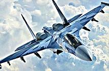Tử thần Su-35S của Nga khoe tuyệt kĩ đánh chặn ở Karelia