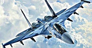 """""""Tử thần"""" Su-35S của Nga khoe tuyệt kĩ đánh chặn ở Karelia"""