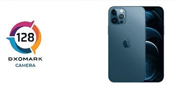 iPhone 12 Pro đạt 128 điểm, chỉ xếp thứ 4 trong bảng xếp hạng DxOMark