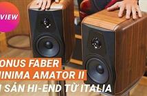 Sonus Faber Minima Amator II - Bookshelf GỖ NGUYÊN TẤM | DI SẢN HI-END ITALIA đáng sưu tầm