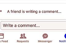 Facebook thử nghiệm tính năng hiển thị người đang viết bình luận