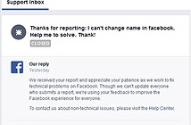 Facebook thừa nhận lỗi về chính sách tên mới