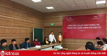 Đào tạo nhân lực đảm bảo an toàn thông tin trong Chính phủ điện tử