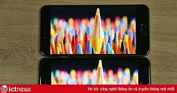 Đọ màn hình iPhone 6 Plus và Bphone 2017