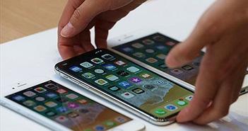 Doanh số iPhone X vượt trội so với iPhone 8 và 8 Plus