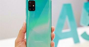 Trên tay Samsung Galaxy A51 với cụm 4 camera sau, chụp macro nghệ thuật