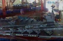 Lộ thiết kế tàu sân bay nội địa 80.000 tấn của Trung Quốc