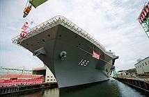 Nhật bày trận bát quái đảo đá, tàu sân bay đón Trung Quốc