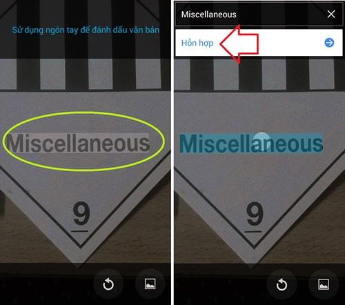 Google Translate đã dịch được văn bản chụp trên smartphone