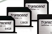 Transcend giới thiệu thẻ nhớ JetDrive Lite dành cho người dùng Macbook