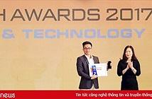 Samsung Galaxy Note8 là điện thoại xuất sắc nhất tại Tech Awards năm 2017