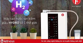 Mua máy tạo nước ion kiềm giàu Hydro Fuji Smart chính hãng tại Việt Nam