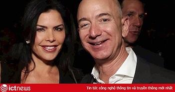 Tỷ phú Jeff Bezos đang rất si tình bạn gái mới