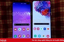 Chi tiết Galaxy S20+: màn hình 120Hz, cảm biến vân tay siêu âm, không jack tai nghe