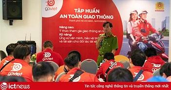 GoViet phối hợp với Công an Thành phố Hồ Chí Minh tổ chức đào tạo tài xế