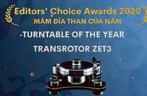Editors Choice Awards 2020: Transrotor ZET 3 TMD – Mâm đĩa than của năm