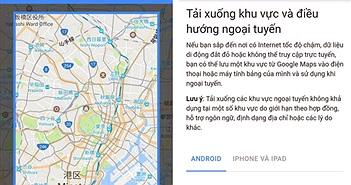 3 mẹo hay khi sử dụng Google Maps