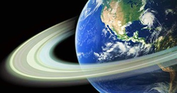 Kịch bản thú vị khi Trái đất có vành đai như sao Thổ