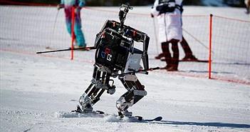 Cười thả ga với cuộc thi trượt tuyết chỉ dành cho robot tại Olympic PyeongChang 2018
