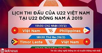 VTVcab và K+ phát sóng trọn vẹn giải U22 Đông Nam Á trên VTV5, VTV6