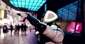 Cận cảnh robot giúp tư vấn, cung cấp thông tin về dịch bệnh corona