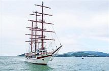 Dân mạng Trung Quốc ca ngợi tàu buồm Hải quân Việt Nam