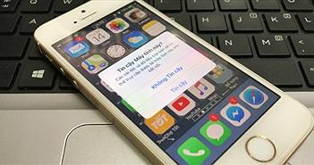 Hướng dẫn sửa lỗi iPhone không hiển thị thông báo Trust This Computer?