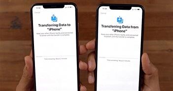Chuyển dữ liệu từ điện thoại cũ sang iPhone 11 mới tậu