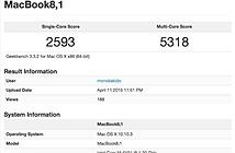 MacBook 12 inch tốc độ 1.2GHz 'mạnh' ngang ngửa MacBook Air 2014