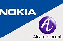 Nokia đàm phán mua lại Alcatel-Lucent