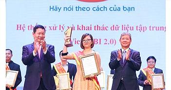 Viettel lập kỷ lục với 10 sản phẩm, dịch vụ đoạt giải thưởng Sao Khuê
