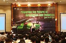 FPT khoe công nghệ ô tô thông minh và robot tự động